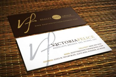 Victoria Felice Business Cards